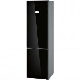 Juodas šaldytuvas